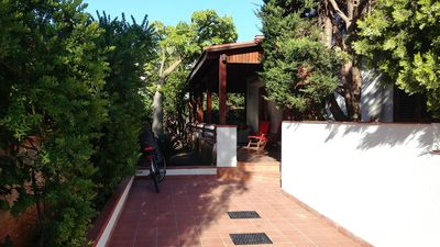 Photo for Exclusive villa in a quiet area, 500 m from the sea with all the comforts