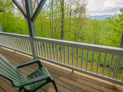 Photo for 4BR Lodge, Views, Hot Tub, Pool Table, Ping-Pong, Sauna, 2 Living Areas, 2 Kitchens, Mins to Boone
