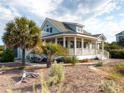Photo for Recently renovated, this light and airy home is decorated with the peaceful hues of the ocean.