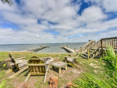 Photo for Emerald Isle Waterfront Retreat w/Dock Access
