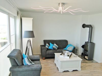 Photo for Duplex apartment with sauna, fireplace and whirlpool for couples and families