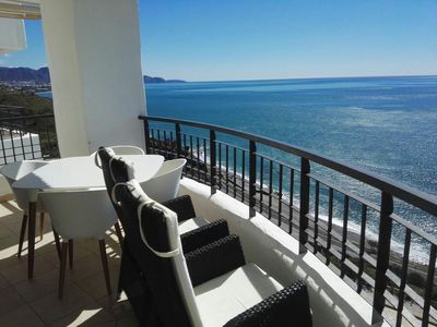 Photo for Luxury Calaceite apartment with unbeatable views of the sea and the beach.