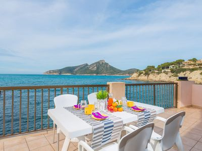 Photo for VISTA AZUL  - Apartment with sea views in Sant elm.