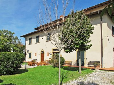 Photo for Lovely apartment for 7 guests with pool, WIFI, TV, balcony, pets allowed and parking
