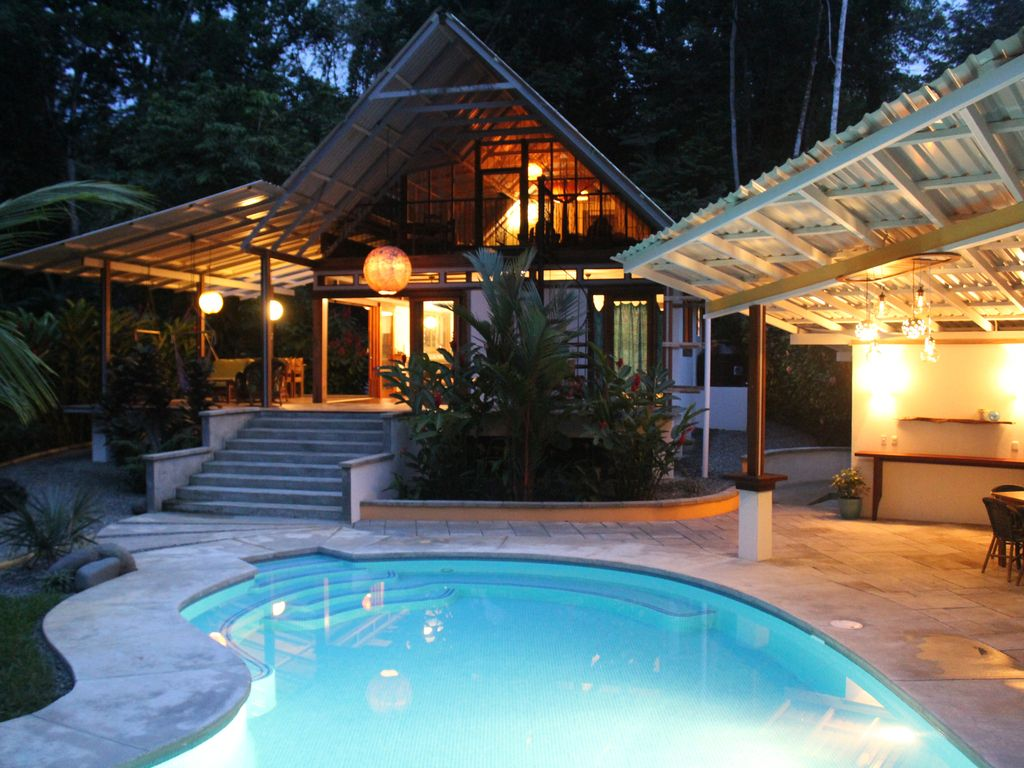 casa bella tranquil jungle retreat steps vrbo