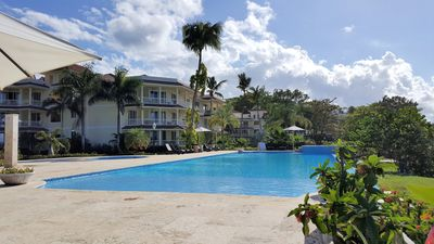 Photo for Hispaniola Beach Luxury  Ocean-view Private Beach Infinity Pool High Speed WiFi