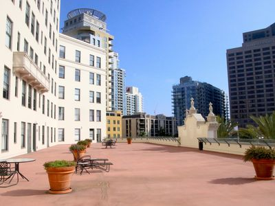 Photo for Charming Condo in San Diego's Historic El Cortez Building!
