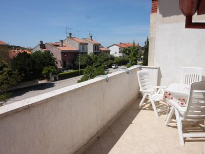 Photo for Two bedroom apartment with terrace Rovinj (A-7656-a)