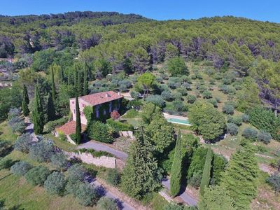Photo for New ! Mas des Oliviers, Draguignan. With a beautiful view !