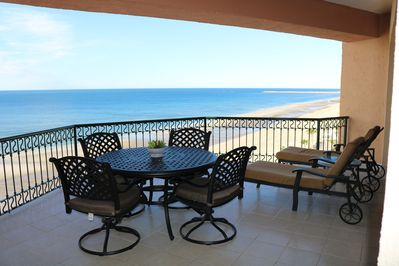 Enjoy laying on the lounge chairs and relaxing!