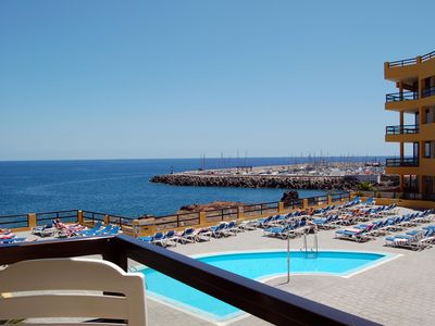 Photo for Aguamarina -lovely 1 bed with sunny balcony, stunning ocean views and wi-fi