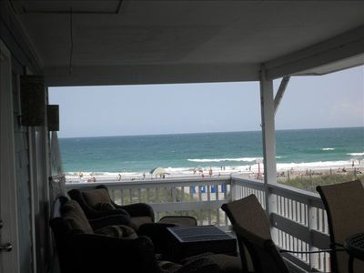 Photo for Awesome Views! Beach House on Wrightsville Beach 6 BR. 4 BA.