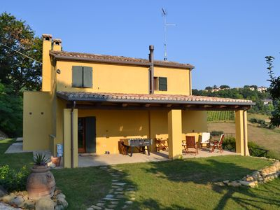 Photo for 3BR Country House / Chateau Vacation Rental in Pesaro Mombaroccio
