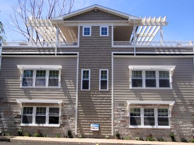 Photo for New Beach Getaway Private Rooftop Decks! Sleeps 12/Unit. Steps to Beach.