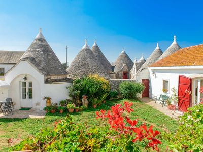Photo for Masseria Pozzo Tre Pile - Romantic Trullo