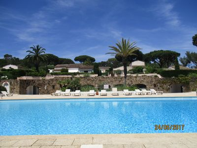 Photo for Apartment In Exclusive St Tropez Development Near Pampelonne