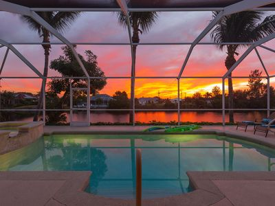 Photo for Sunrise Dream - WATERFRONT W/ HOT TUB, GAME ROOM, POOL