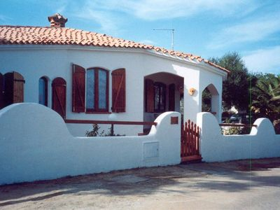 Photo for beautiful typical Sardinian villa 300 meters from the sea, 2 bedrooms, 2 bathro