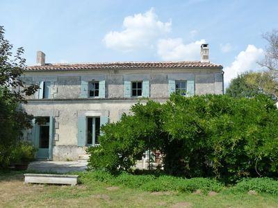 Photo for Geay: pretty Charente house in a hamlet