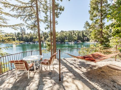 Photo for Emerald Bay Lakefront Lodge - stunning views of the lake!