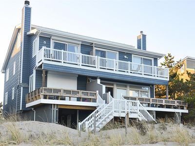 Photo for FREE ACTIVITIES!! Step out onto the sand from your beach front deck with direct access!