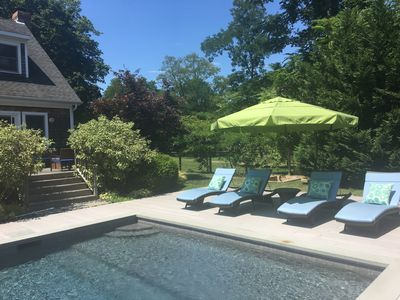Photo for Stunning Contemporary With Heated Gunite Pool Near Wades Beach