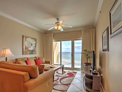 Photo for 3BR Gulf Shores Condo - Beachfront Views & Pool!