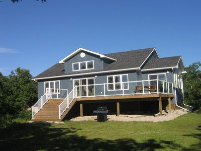 Photo for Private Lakefront Steep Rock Cottage - Sleeps 7