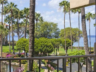 Photo for Partial Ocean View 1bdrm Condo on the third floor of building one at Kamaole Sands. 1-302