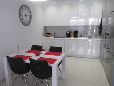 Photo for very nice contemporary secure apartment 200 m from the sea (mil palmeras)