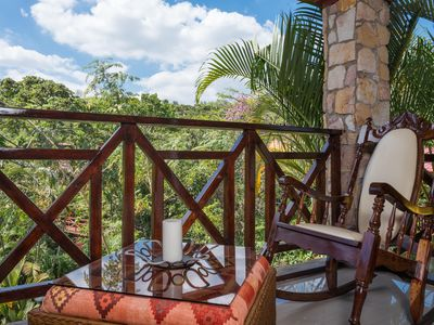 Photo for La Vista is recently renovated, has 1 King or 2 single beds, private terrace
