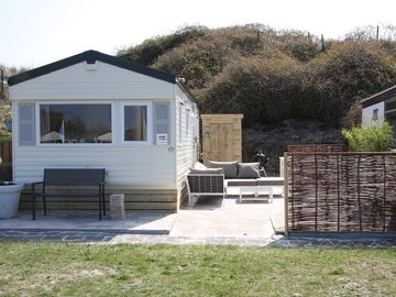 Fine mobile home for rent in the middle of the dunes! - Strandinzicht 3