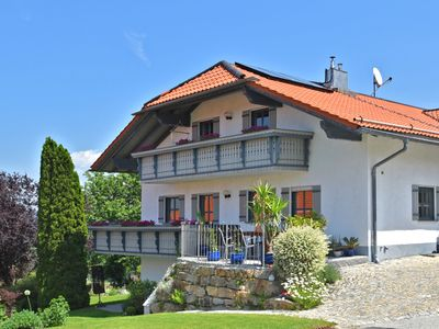 Photo for Beautiful apartment in the Bavarian Forest with balcony and whirlpool tub