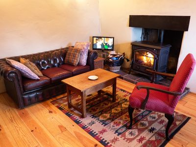 Photo for Kerry CoastTraditional Cottage in Kells at Dingle Bay in County Kerry, Ireland.