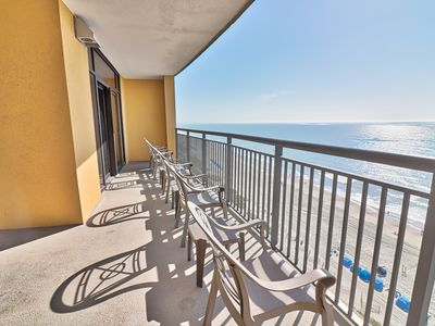 Photo for Private breath taking coast line view, spacious two bedroom condo.