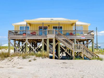 Photo for Dog-friendly beachfront home with spacious deck, amazing views of the Gulf