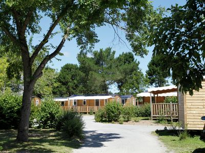 Photo for 6-8 Persons mobile home in beautiful park near the beach