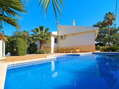 Photo for 4 bedroom Villa, sleeps 9 in Casas de Torrat with Pool, Air Con and WiFi