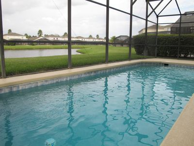 Photo for Lake View 5BR/3.5B Pool Home near Disney