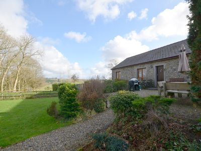 Photo for Laethdy is a semi-detached stone cottage, situated on the owners' small working farm, surrounded by