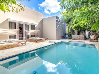 Photo for Sextant's Biscayne Residence I—Heated Pool Hot Tub, 10 minutes to South Beach