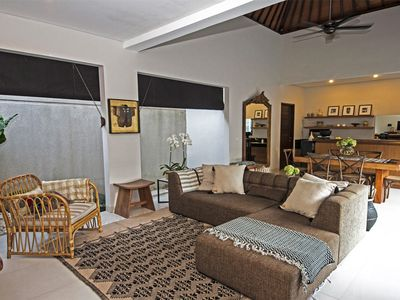 "Photo for Villa Makela  -  ""Coziest Chic Villa, One Minute Walk to Batubelig Beach, Bali!"""