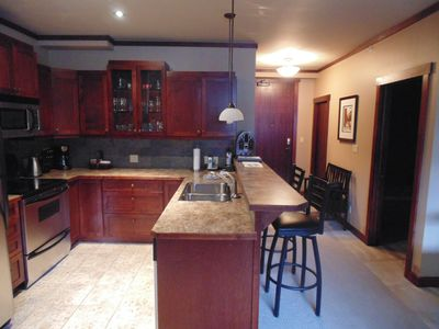 Photo for Convenient Top-floor Two-Bedroom Condo in the Heart of Canmore