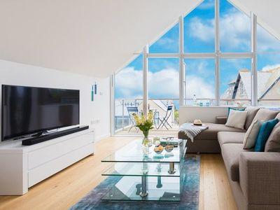 Photo for A Stunning High Spec Penthouse Apartment With Balcony Views Over The Bay