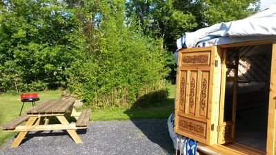 Photo for YURT D HOSTS OF 4 PEOPLE IN OUR BEAUTIFUL PROPERTY OF THE BEARN'S YURT