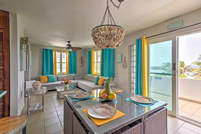 Pure relaxation awaits at this 2-bedr, 2-bath Manatí vacation rental condo