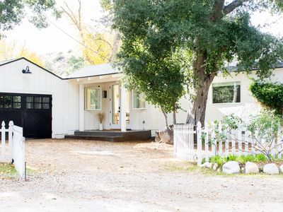 Photo for Charming Newhall Cottage with Vintage Airstream!
