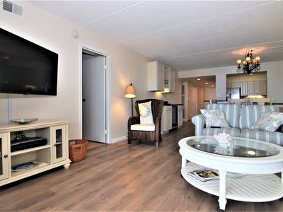 Photo for Renovated Condo Uptown OCEANFRONT building!
