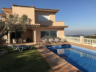 Photo for BONA VISTA with swimming pool, 10 x 4 meters, solar heated and spectacular sea view