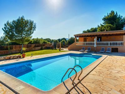 Photo for Perfect rural holiday with pool - Villa Can Pota